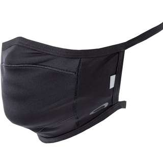 Oakley Face Covering Fitted Gesichtsmaske blackout