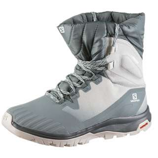 Salomon VAYA POWDER TS CSWP Winterschuhe Damen lead-lunar rock-stormy weather