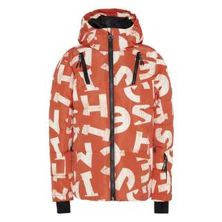 Chiemsee Skijacke Skijacke Kinder Orange/Wht AOP