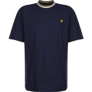 Lyle & Scott Multi Rib T-Shirt Herren blau