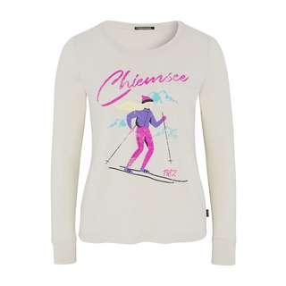 Chiemsee T-Shirt Langarmshirt Damen White Sand