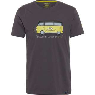 La Sportiva Van T-Shirt Herren carbon-kiwi