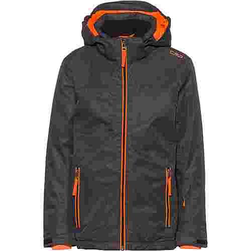 CMP Skijacke Kinder antracite-orange fluo