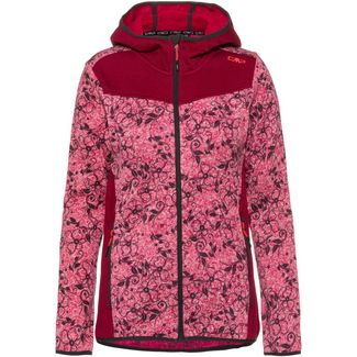 CMP Strickfleece Damen magenta-antracite