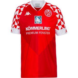 KAPPA 1. FSV Mainz 05 20-21 Heim Fußballtrikot Herren racing red