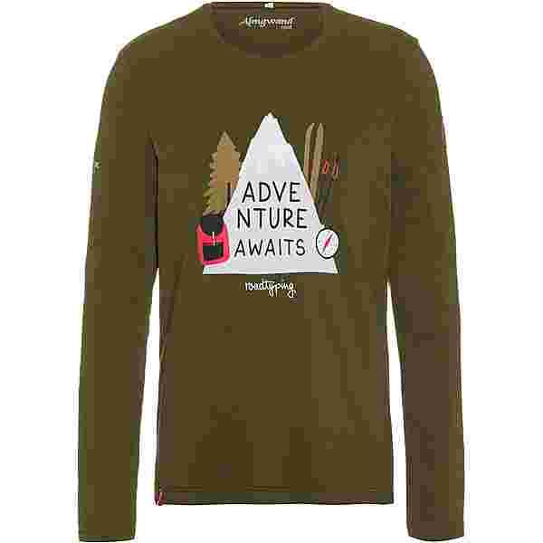 Almgwand TRINKERALM Sweatshirt Herren olivgrün