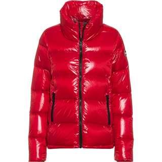 COLMAR Daunenjacke Damen red velvet-black