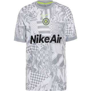 Nike FC Funktionsshirt Herren white-lt smoke grey-reflect black