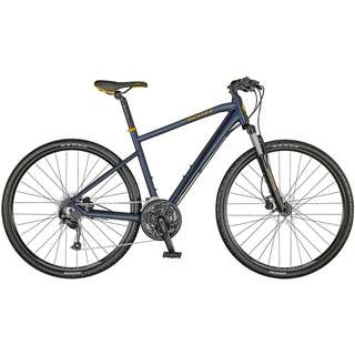 SCOTT Sub Cross 40 Trekkingrad Herren dark blue-pumpkin orange
