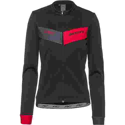 SCOTT Shirt M's RC Warm Trikot Damen black-azalea pink