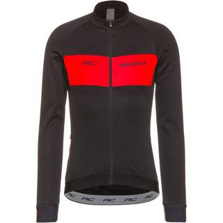 SCOTT Shirt M's RC Warm Fahrradtrikot Herren black/fiery red