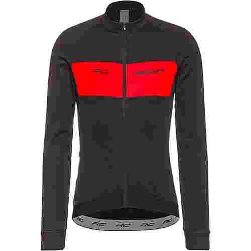 SCOTT Shirt M's RC Warm Trikot Herren black/fiery red