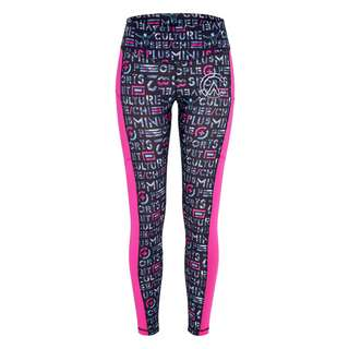 Chiemsee Leggings Leggings Damen Pink/L Grey AOP