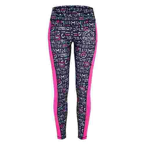 Chiemsee Leggings Leggings Damen Pink/L Grey AOP