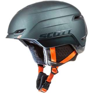 SCOTT Chase 2 Skihelm sombre green-pumpkin orange