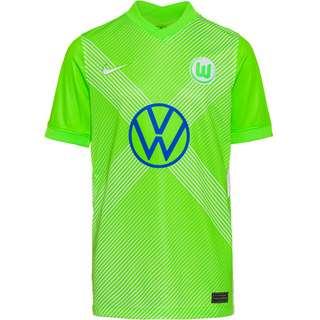 Nike VFL Wolfsburg 20-21 Heim Trikot Kinder sub lime-white-white