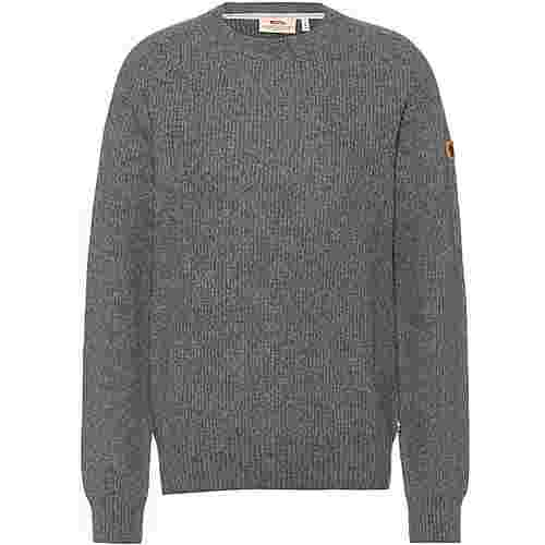 FJÄLLRÄVEN Greenland Re-Wool Strickpullover Herren thunder grey