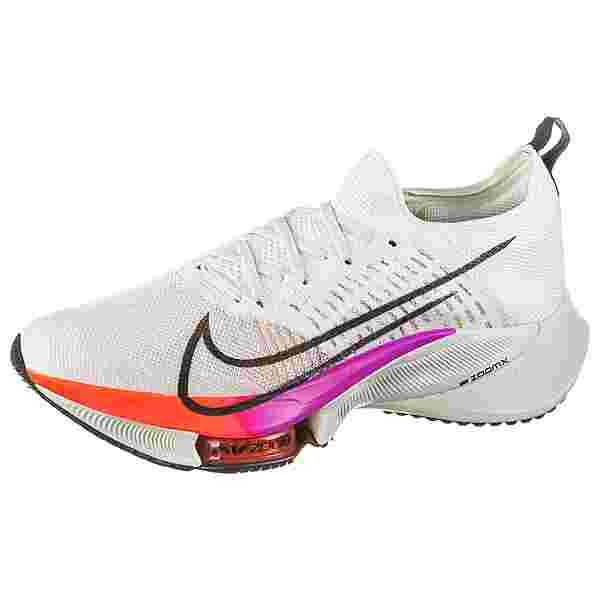 Nike AIR ZOOM TEMPO NEXT% Laufschuhe Herren white-flash crimson-hyper violet