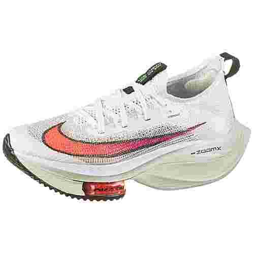 Nike ZOOM ALPHAFLY NEXT% Laufschuhe Damen white-flash crimson-jade aura