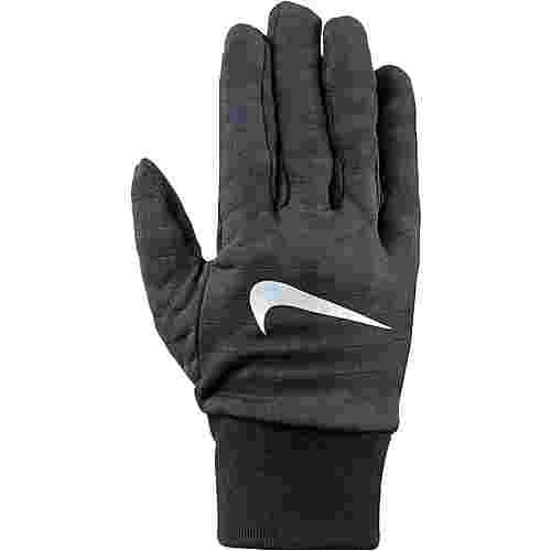 Nike Sphere Laufhandschuhe Herren black-silver