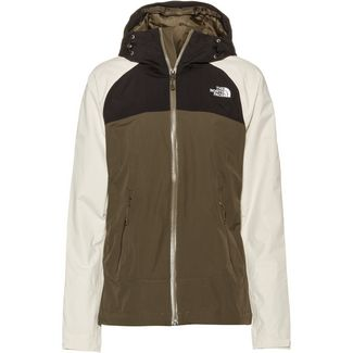 The North Face STRATOS Hardshelljacke Damen newtaupgrn/vntgwht/tnfblk