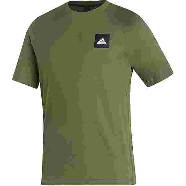 adidas Must Haves Enhanced T-Shirt Herren wild pine