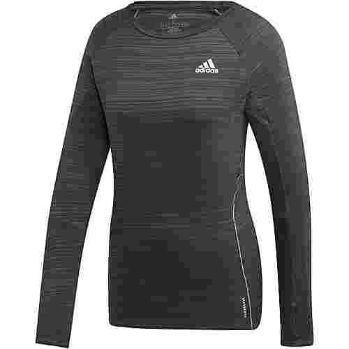 adidas ADI RUNNER Funktionsshirt Damen legend earth