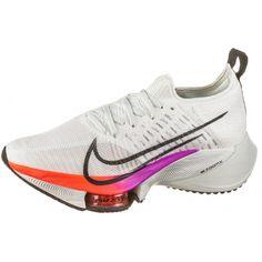 Nike AIR ZOOM Tempo NEXT% FK Laufschuhe Damen white-flash crimson-hyper violet