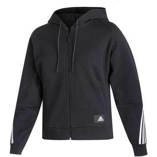 adidas 3-STRIPES SPORT MUST HAVES ENHANCED Sweatjacke Damen black-white
