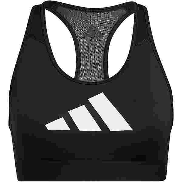 adidas DON'T REST 3 BAR AEROREADY BH Damen black-grey four-white
