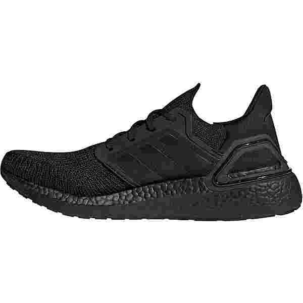 adidas Ultraboost 20 Laufschuhe Herren core black-core black-solar red
