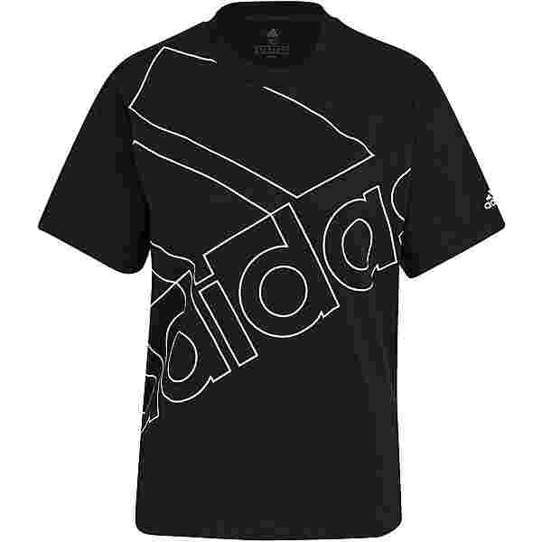 adidas Favorite Essentials T-Shirt Damen black-white