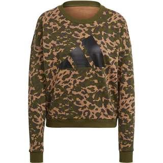 adidas Must Haves Enhanced Sweatshirt Damen cardboard