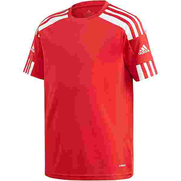 adidas Squad 21 Funktionsshirt Kinder team power red-white