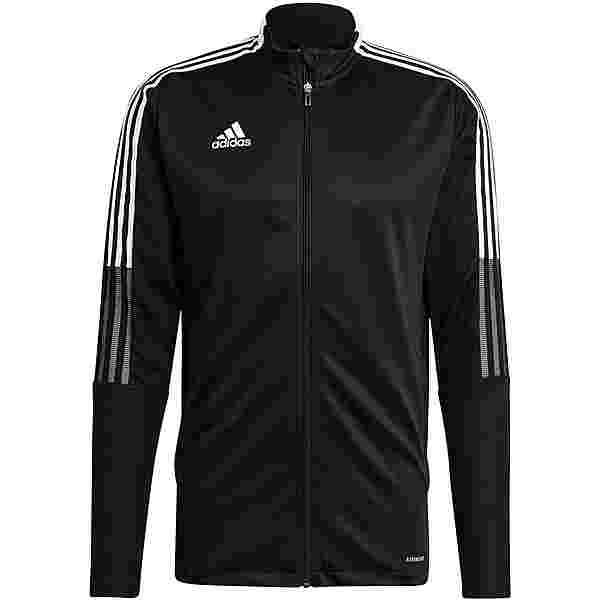 adidas Tiro 21 Trainingsjacke Herren black