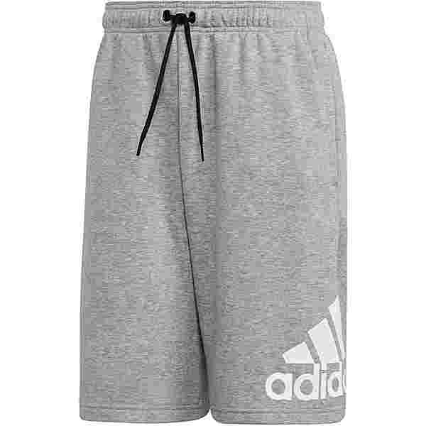 adidas Must Haves Badge of Sport Shorts Herren medium grey heather