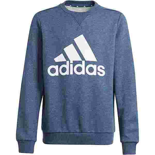 adidas Essentials Sweatshirt Kinder crew navy mel-white
