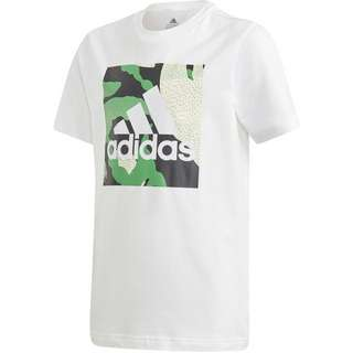 adidas CAMO GRAPHIC T-Shirt Kinder white