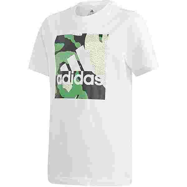 adidas CAMO GRAPHIC T-Shirt Kinder white