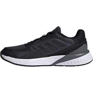 adidas Response Run Laufschuhe Damen grey five-core black-dash grey