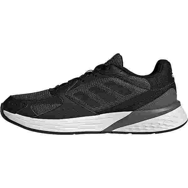 adidas Response Run Laufschuhe Damen grey five-core black-dash grey