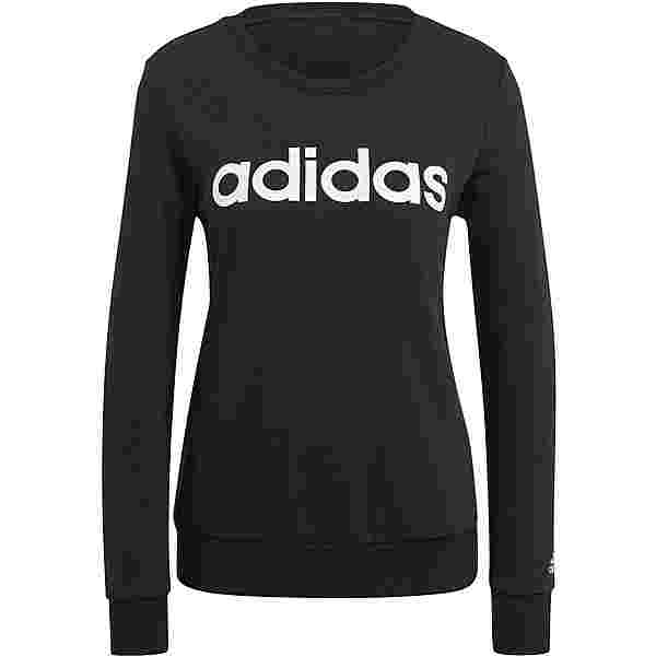 adidas LINEAR SPORT ESSENTIALS Sweatshirt Damen black-white