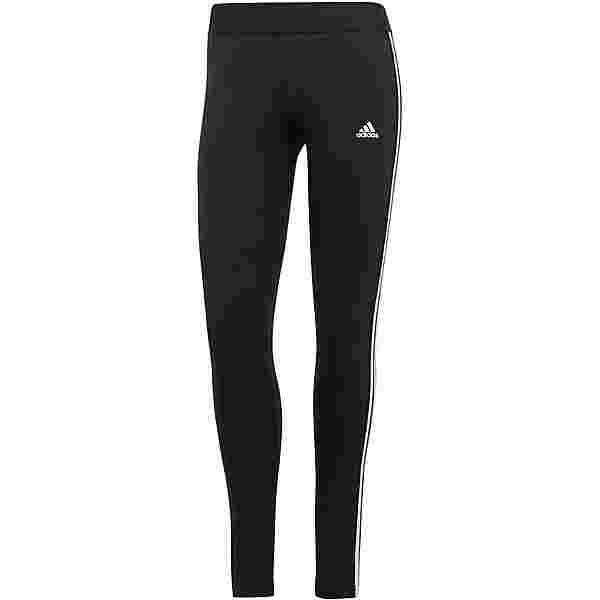 adidas 3-STRIPES SPORT ESSENTIALS Leggings Damen black-white