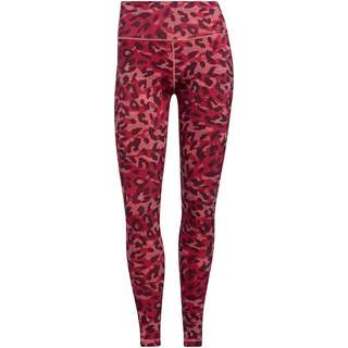 adidas DESIGNED4TRAINING AEROREADY Tights Damen hazy rose-print