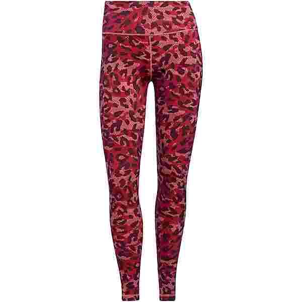 adidas DESIGNED4TRAINING AEROREADY Tights Damen hazy rose-print