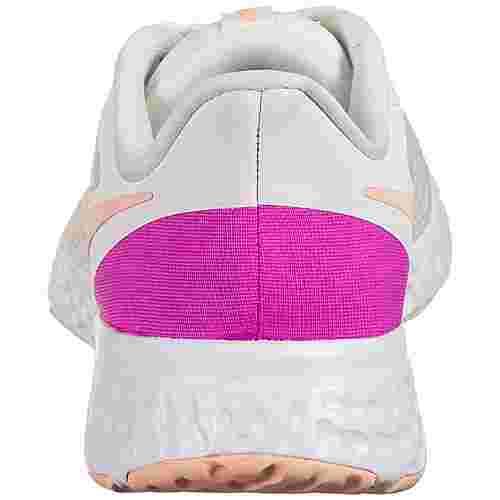 Nike Revolution 5 Laufschuhe Damen beige / pink