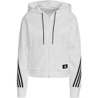 adidas 3-STRIPES SPORT MUST HAVES ENHANCED Sweatjacke Damen white-black