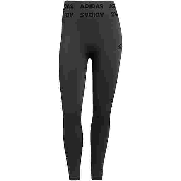 adidas AEROKNIT DESIGNED4TRAINING Tights Damen dgh solid grey