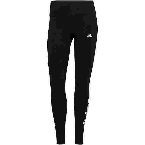adidas LINEAR SPORT ESSENTIALS Leggings Damen black-white