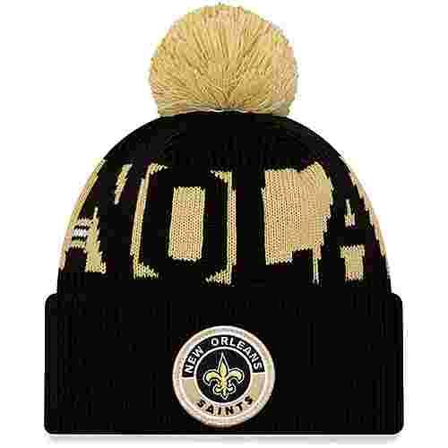 New Era New Orleans Saints Bommelmütze official team colour